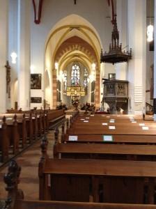 Thomaskirche innen