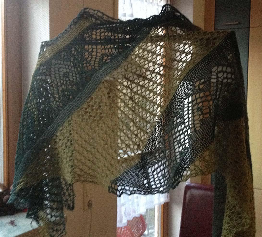 Schal diagonal- Donna rocco