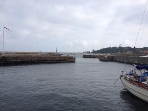 Hafenausfahrt neksø